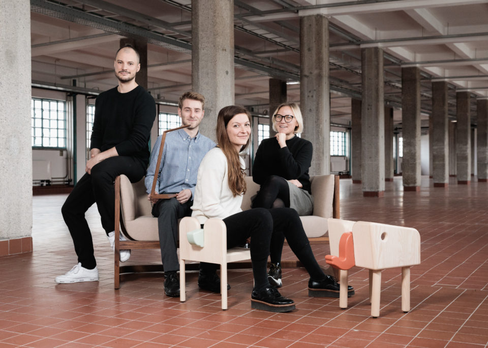 DESIGNERS TALENT BOOST - die GewinnerInnen. Credits: vog.photo