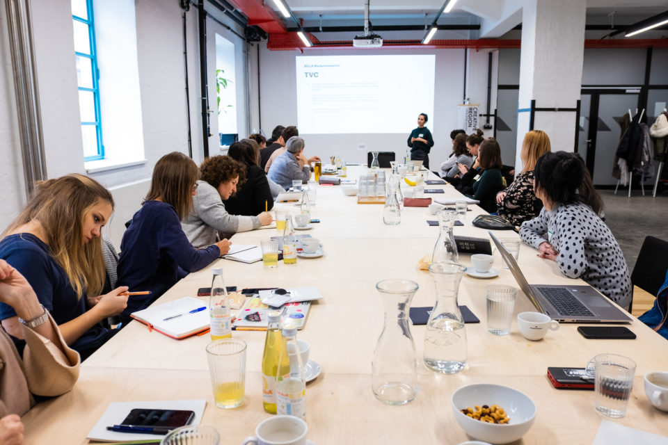 Neue Wege der Content Creation - Workshop mit Tunnel 23 - Credits: Frameworker