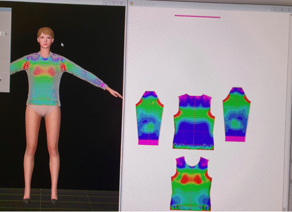 mapping the body figure for latest scan developments
